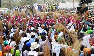 3,000 APC Members Shut Down Ebonyi for Buhari