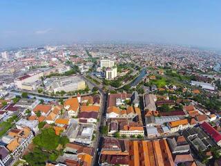 Foto udara Kota Semarang