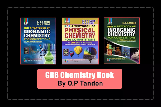 [PD] OP Tandon Physical, Inorganic, and Organic Chemistry For JEE   GRB Publication   Free Download