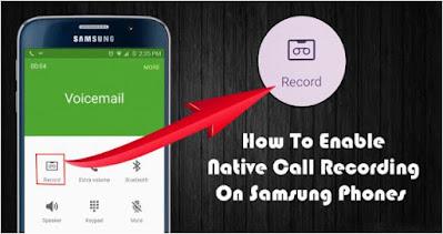 تسجيل, المكالمات, على, هاتف, Samsung ,Galaxy