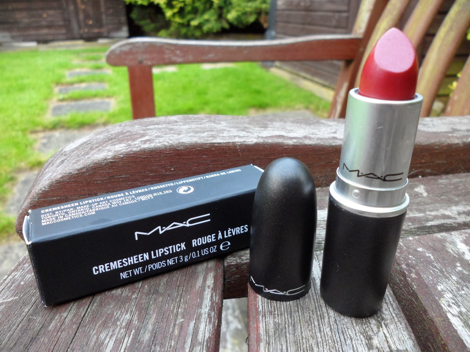 MAC Cremesheen Lipstick In Party Line