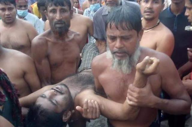 ঝিনাইদহ  কালীগঞ্জ  চিত্রা নদীতে ডুবে এক মানসিক প্রতিবন্ধী যুবকের  মৃত্যু