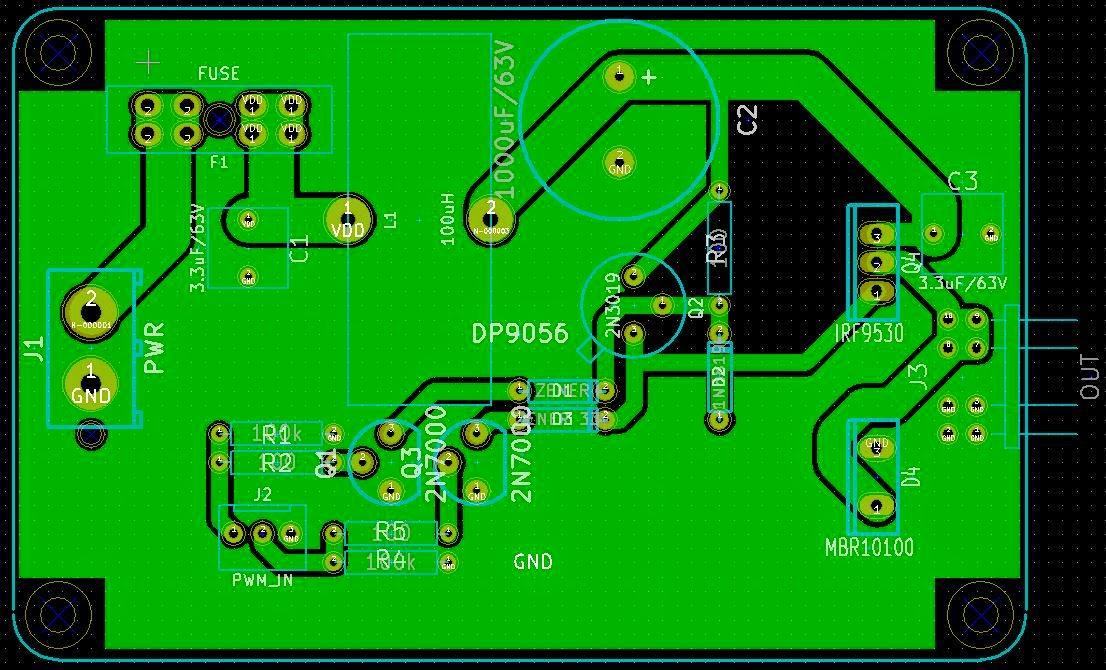 DC Motor Controller for CNC Router | Hackaday io