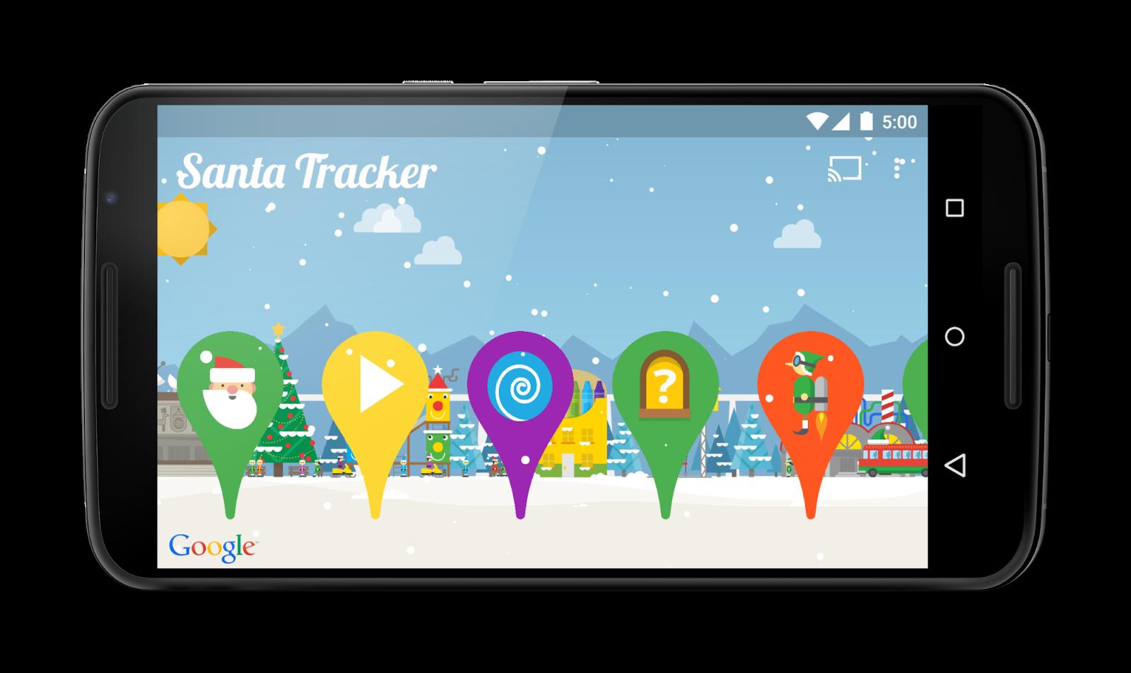Google Developers Blog: Ho Ho Ho! Google's Santa Tracker ...
