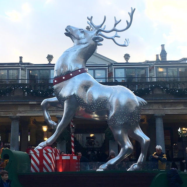 Reindeer at Covent Garden