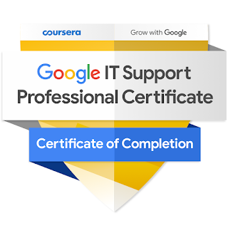 Best Couresra Course to learn IT support from Google