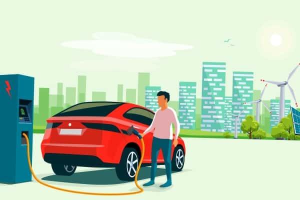 سوق السيارات الكهربائية