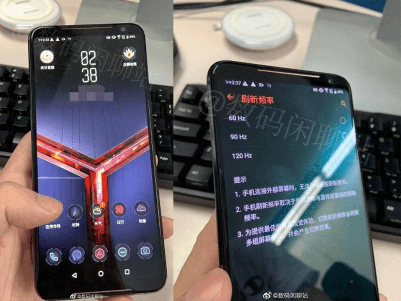 Alleged ROG Phone 2 images