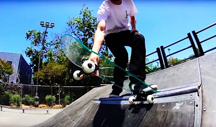 Skaten mit einem Skateboard aus Glas | You make it, we skate it