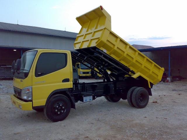paket kredit colt diesel dump truck 2018