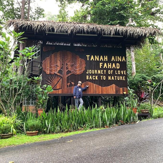 Tanah Aina Fahad, tempat menarik di Raub Pahang