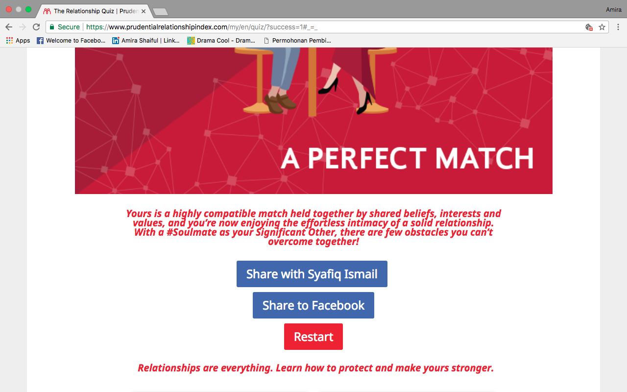 KNOW YOUR RELATIONSHIP INDEX SCORE FROM PRUDENTIAL