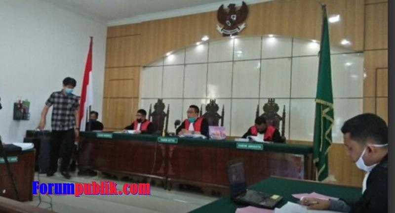 Terdakwa Bantah Keterangan 2 Saksi yang Dihadirkan JPU pada Sidang Pemalsuan Surat Lahan Milik Pertamina