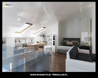 mieszkanie dwupoziomowe Wrocław