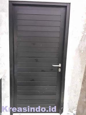 Harga Pintu Aluminium Warna Coklat spandrel