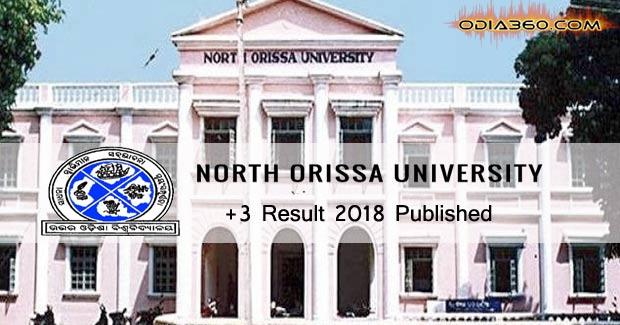 +3 NOU, Baripada Odisha 2018 Result Published