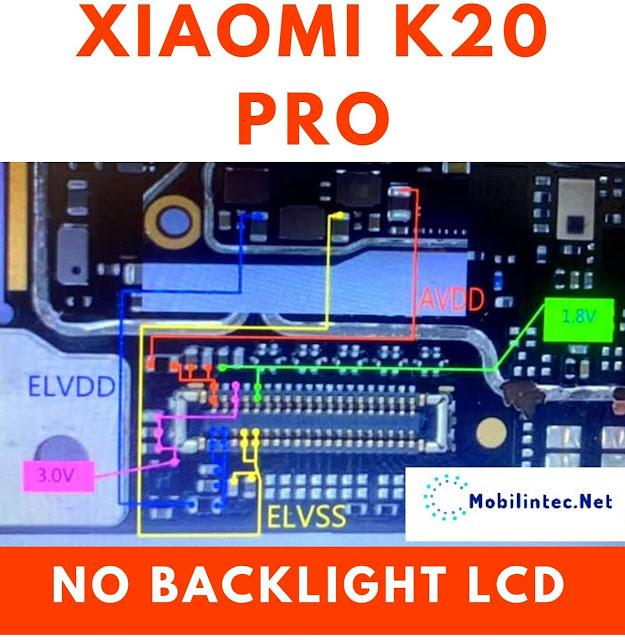 Tutorial Repair No Backlight Xiaomi K20 Pro
