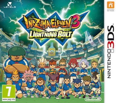 Inazuma Eleven 3 Lightning Bolt CIA 3DS EUR