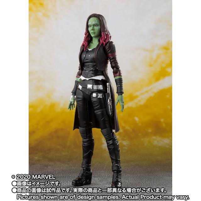 S.H.Figuarts Gamora de Avengers: Infinity War - Tamashii Nations