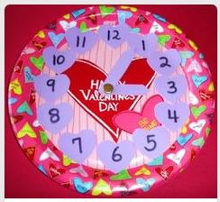 http://learningideasgradesk-8.blogspot.com/2012/02/valentines-day-paper-plate-clock.html