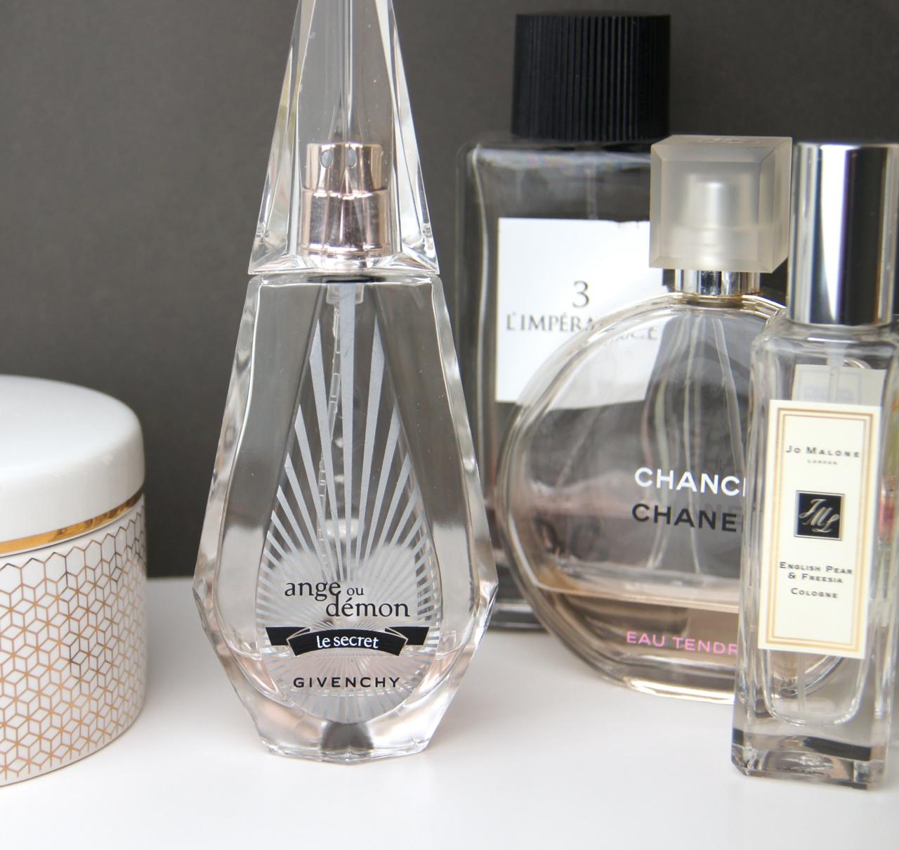 givenchy ange ou demon le secret eau de parfum review summer fragrance favourites