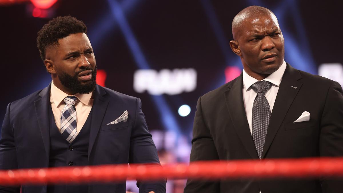 Cedric Alexander e Shelton Benjamin se separam no WWE RAW