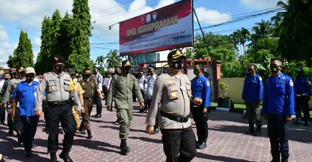 Polres Aceh Timur Gelar Kesiapsiagaan Pencegahan dan Penanggulangan Bencana