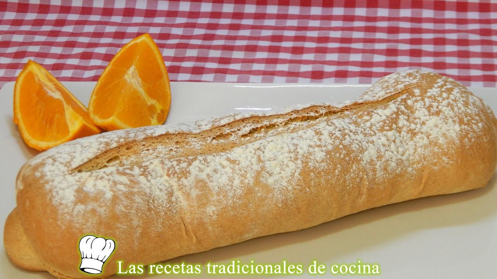 Cómo Hacer Pan Salado De Naranja Muy Crujiente Y Con Un Miga