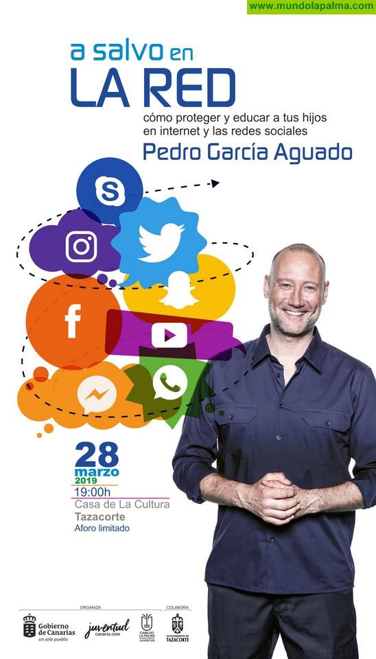 Pedro García Aguado vuelve a La Palma para disertar sobre 'los peligros de la red' entre la juventud