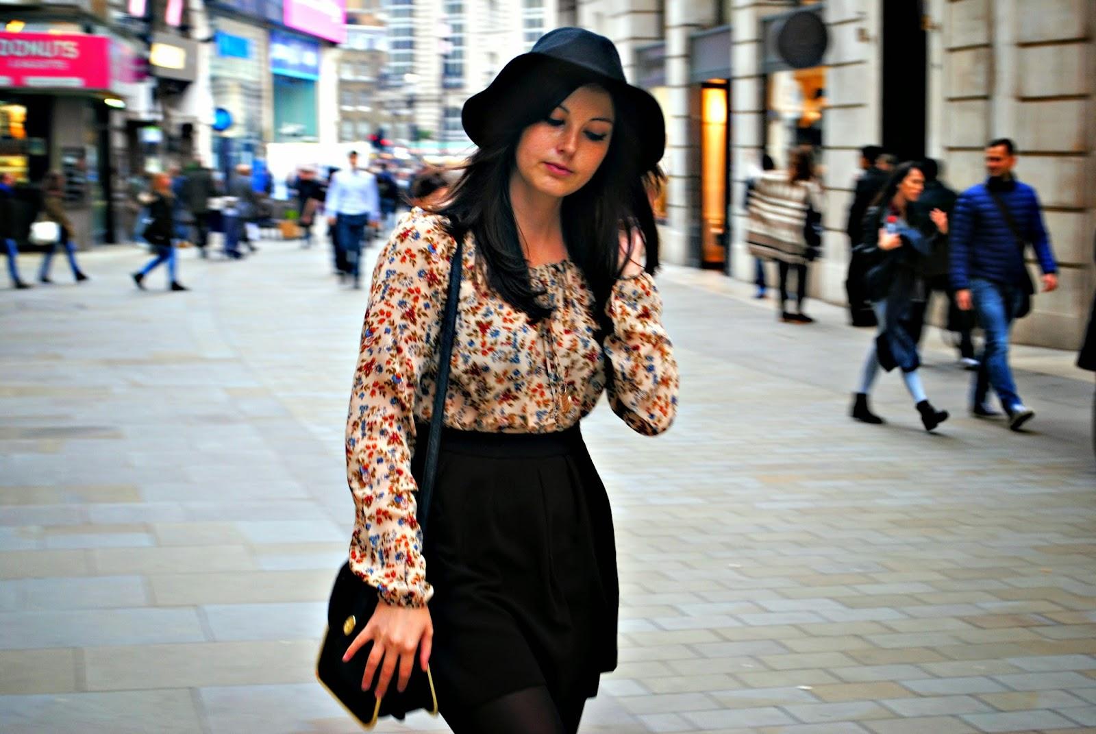 Stradivarius boho vintage blouse