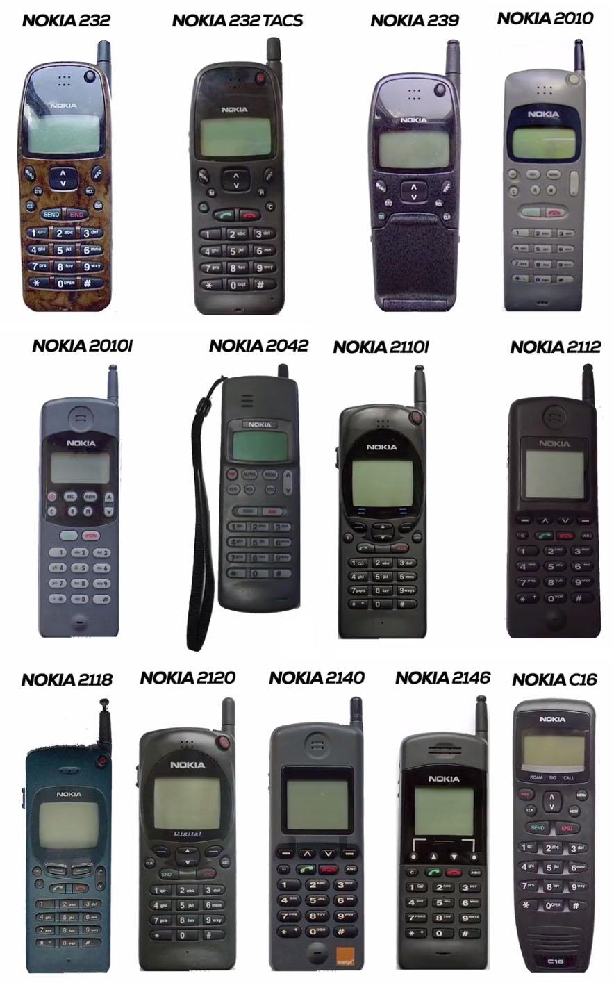 Nokia Mobile Phones in 1994