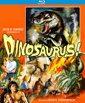 DINOSAURUS! Blu-ray cover - Released by Kino Lorber Studio Classics!