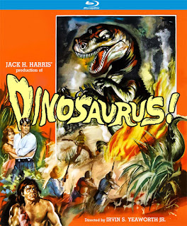 Blu-ray cover for DINOSAURUS! - Released by Kino Lorber Studio Classics!
