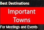 Important Towns for