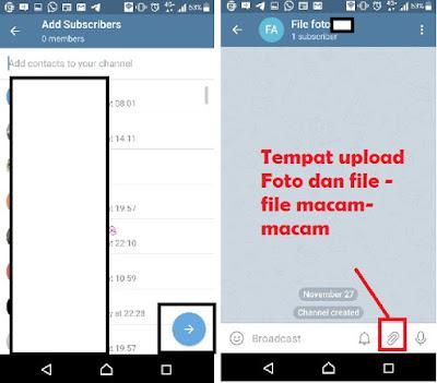 Cara membuat telegram jadi penyimpanan online