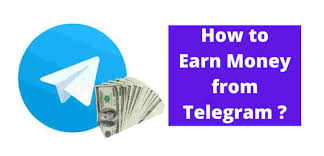 Earn Money from Telegram Channel