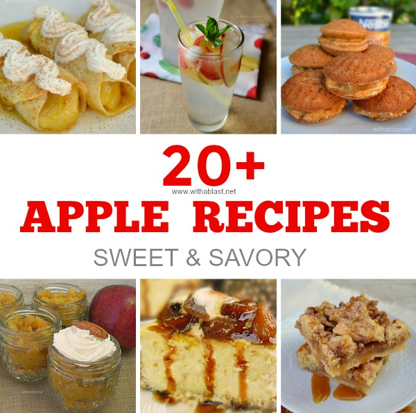 All things Apple - from Milkshakes to Desserts to Mains and all the in betweens !