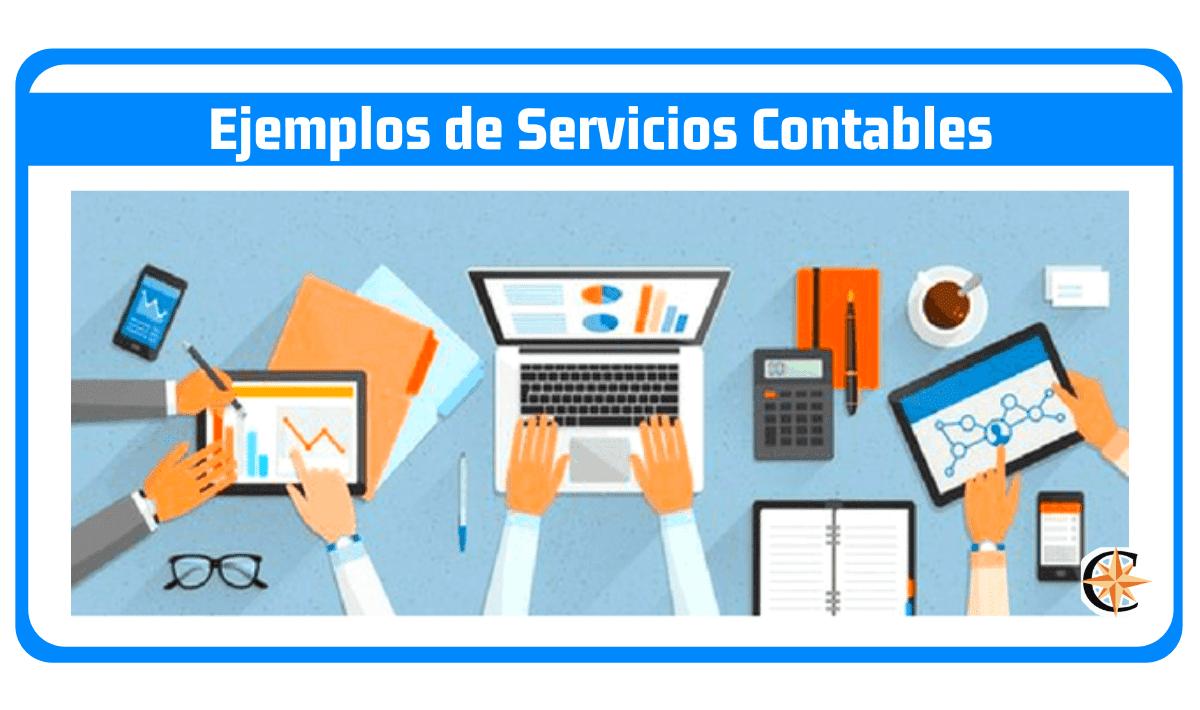 ejemplos de servicios contables