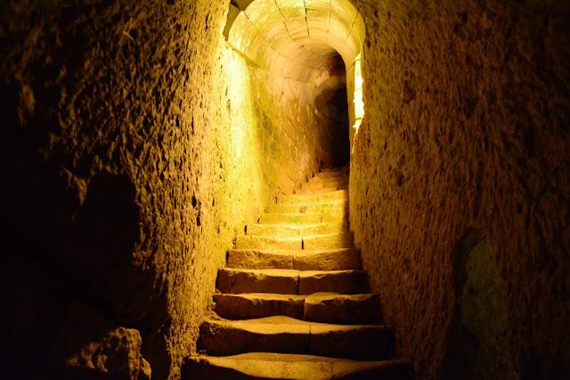 souterrains chateau de Brézé