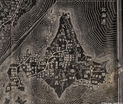 05 明治38年(1905)大日本汽車線路略図 北海道