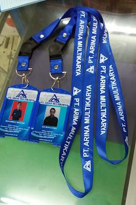 Cetak ID Card Murah & Bisa Sablon Tali ID Card