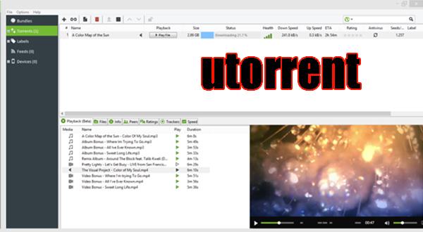 برنامج التحميل يوتورنت utorrent