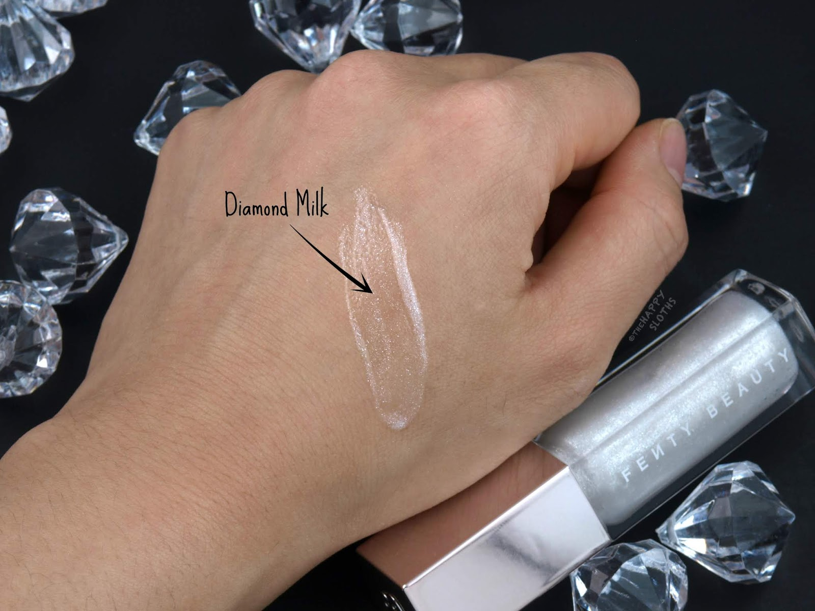 "Fenty Beauty by Rihanna | Gloss Bomb Universal Lip Luminizer in ""Diamond Milk"": Review and Swatches"