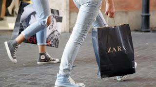 Ilustrasi brand fashion kenamaan, Zara. (Shutterstock) updetails.com