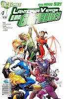 Os Novos 52! Lanterna Verde - Os Novos Guardiões #1
