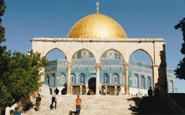 kajian bersama syeh dari palestina