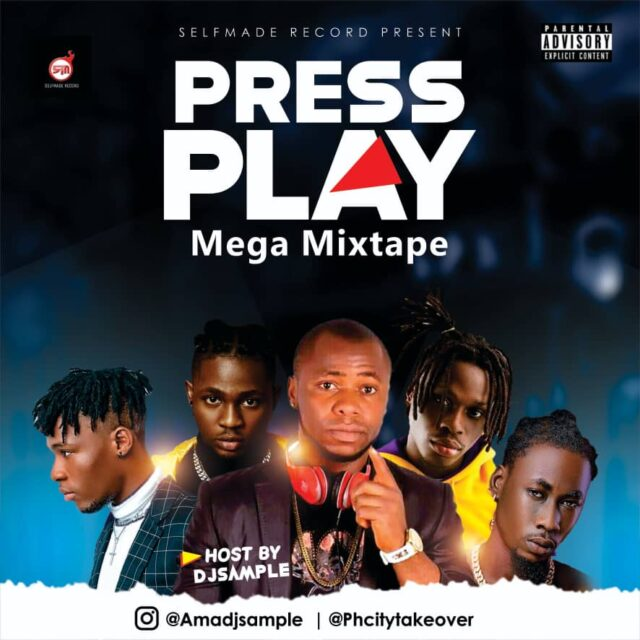 DJ sample – Press Play Mega Mixtape Vol1 | @Amadjsample