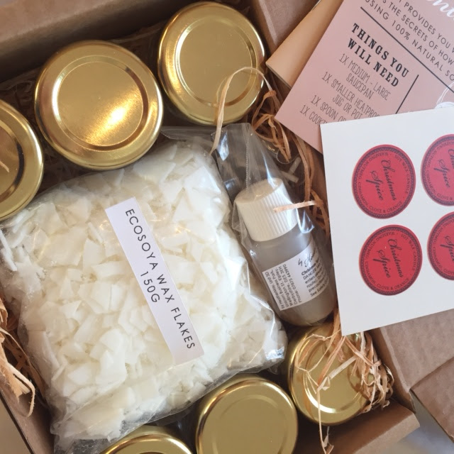 candle making kit By Heather may