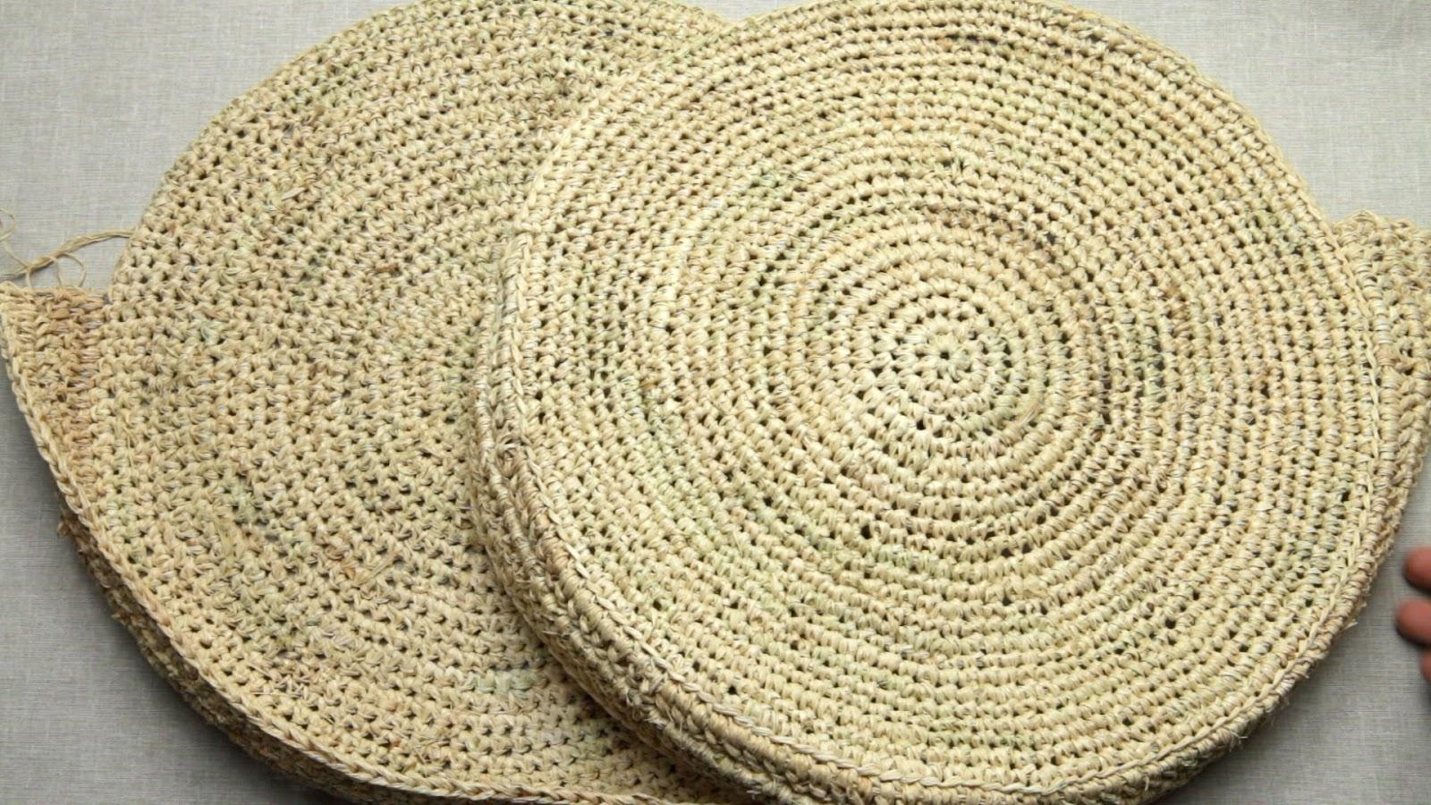 crocheter en raphia