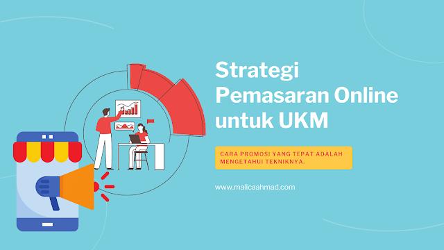 Strategi pemasaran online UKM
